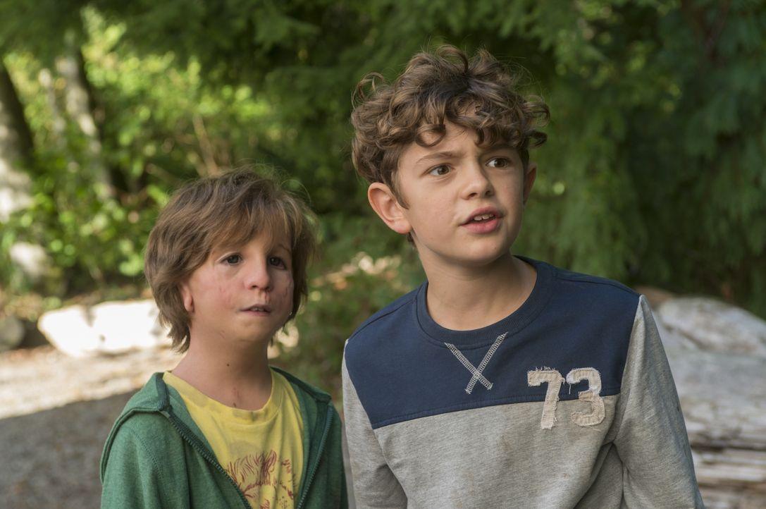 Auggie (Jacob Tremblay, l.); Jack Will (Noah Jupe, r.) - Bildquelle: Dale Robinette Studiocanal GmbH / Dale Robinette
