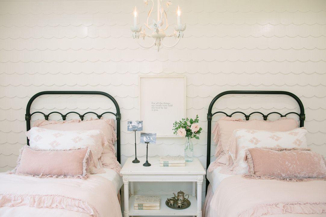 Mit spektakulären Details und ganz viel Liebe verwandeln die Gaines ein heruntergekommenes Haus in einen Traumpalast im Farmhouse-Style. Auch die Ki... - Bildquelle: Rachel Whyte 2016, HGTV/Scripps Networks, LLC. All Rights Reserved.