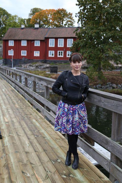 Wird Rachel entdecken, was skandinavisches Essen so besonders macht? - Bildquelle: Richard Hill BBC 2014