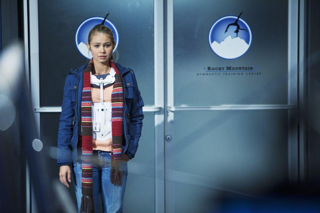 Payson (Ayla Kell) ist enttäuscht als sie zufällig sieht, wie sich Nick und Kylie näher kommen ... - Bildquelle: 2009 DISNEY ENTERPRISES, INC. All rights reserved.