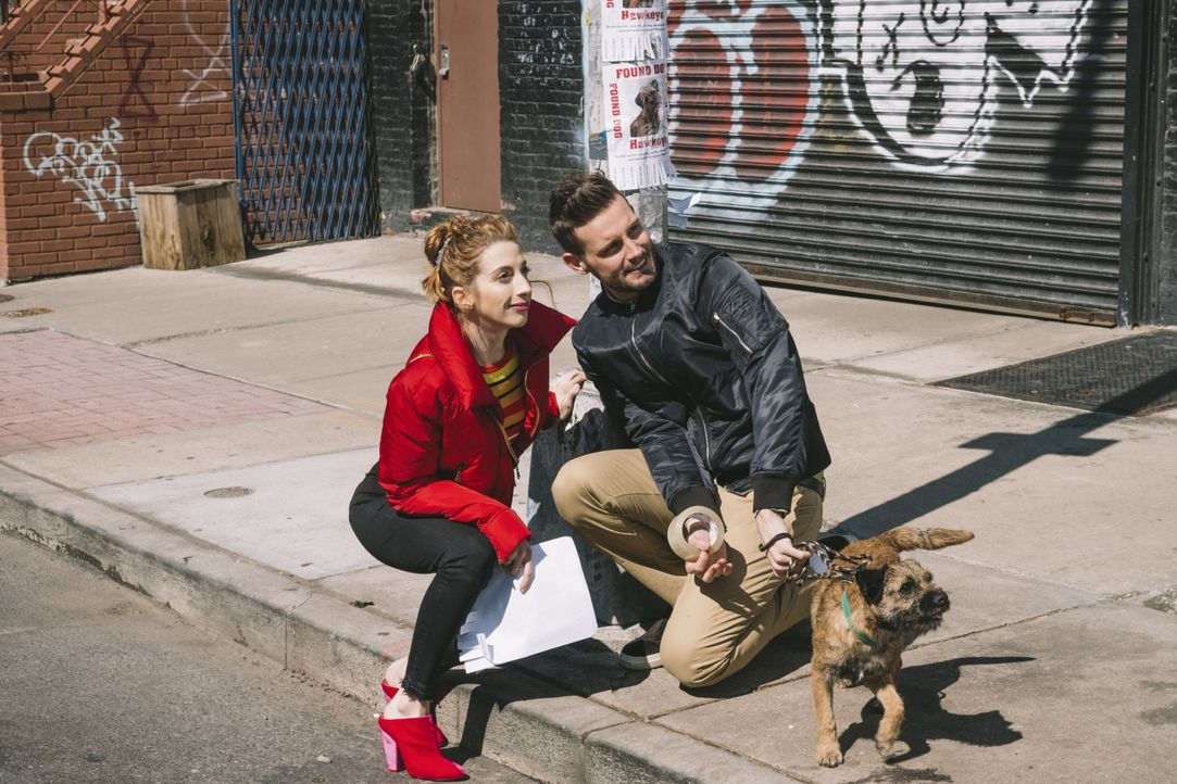 Lauren Heller (Molly Bernard, l.); Josh (Nico Tortorella, r.) - Bildquelle: Sabrina Lantos Hudson Street Productions Inc 2018 / Sabrina Lantos