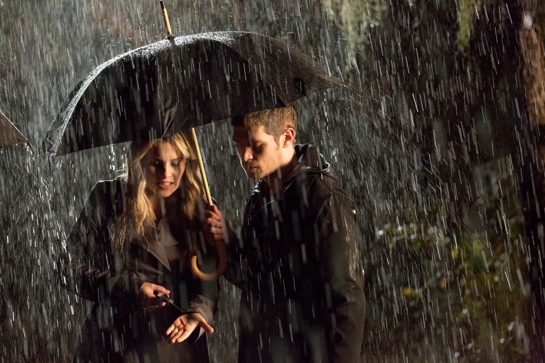 Rebekah und Klaus - Bildquelle: Warner Bros. Entertainment Inc.