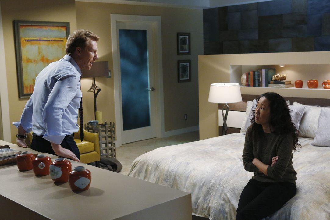 Haben Cristina (Sandra Oh, r.) und Owen (Kevin McKidd, l.) noch eine gemeinsame Zukunft vor sich? - Bildquelle: ABC Studios