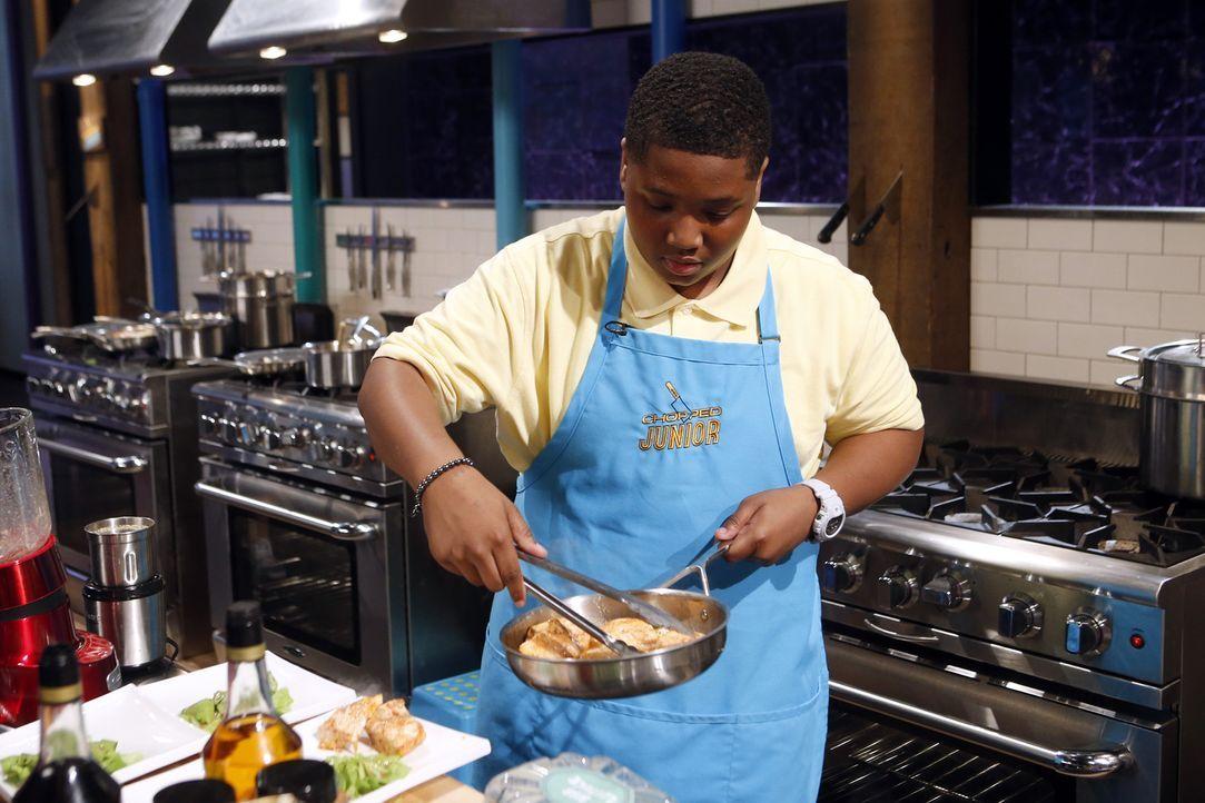 Bryce aus Baltimore will Amerikas bester Koch werden - vorher muss er sich allerdings der Chopped-Jury stellen. Wird sich der Zwölfjährige gegen sei... - Bildquelle: Jason DeCrow 2015, Television Food Network, G.P. All Rights Reserved
