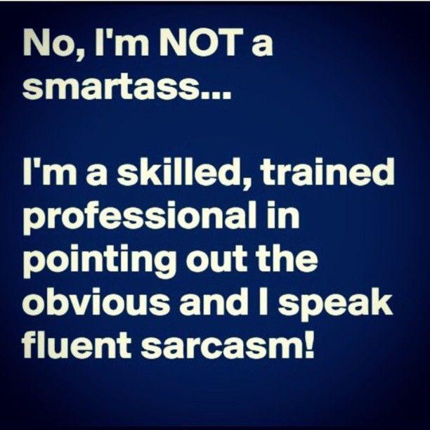 Ich bin kein Klugscheißer!