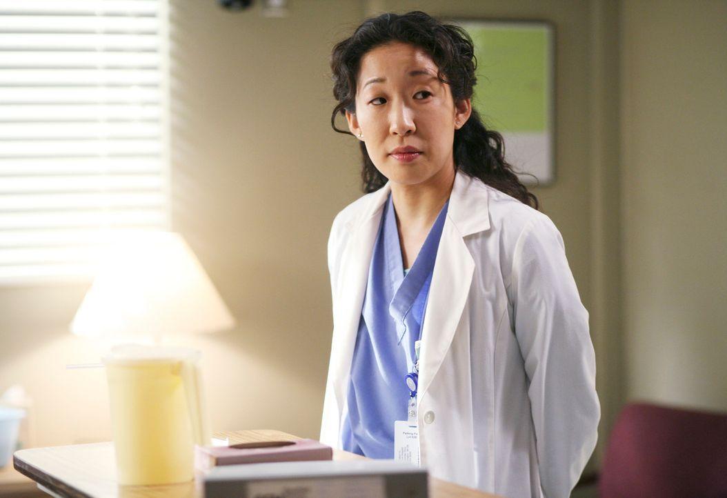 Cristina (Sandra Oh) wird langsam ungeduldig mit Burke. Es fällt  ihr schwer einzusehen, dass seine Rehabilitation noch  lange dauern wird. Erst der... - Bildquelle: Touchstone Television