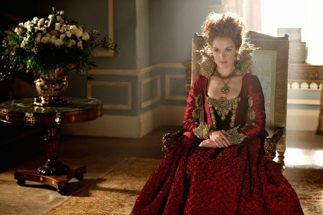 Sie hat nicht nur einen Plan, um Mary zu zerstören: Königin Elizabteh von England (Rachel Skarsten) ... - Bildquelle: Sven Frenzel 2014 The CW Network, LLC. All rights reserved.