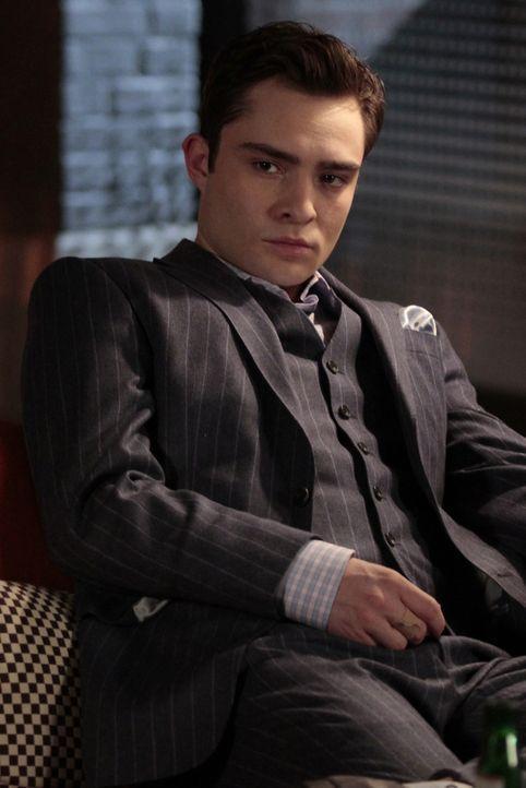 Chuck (Ed Westwick) will nichts von Georgina wissen und setzt sie kurzerhand wieder vor die Tür ... - Bildquelle: Warner Bros. Television