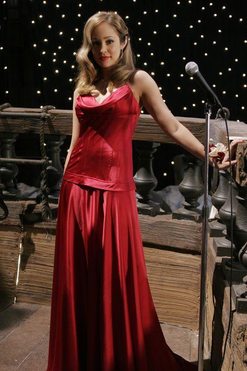 Taylor (Autumn Reeser) ist die einzige, die sich wirklich auf den Abschlussball freut ... - Bildquelle: Warner Bros. Television