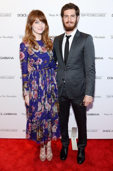 Emma Stone und Andrew Garfield - Bildquelle: AFP