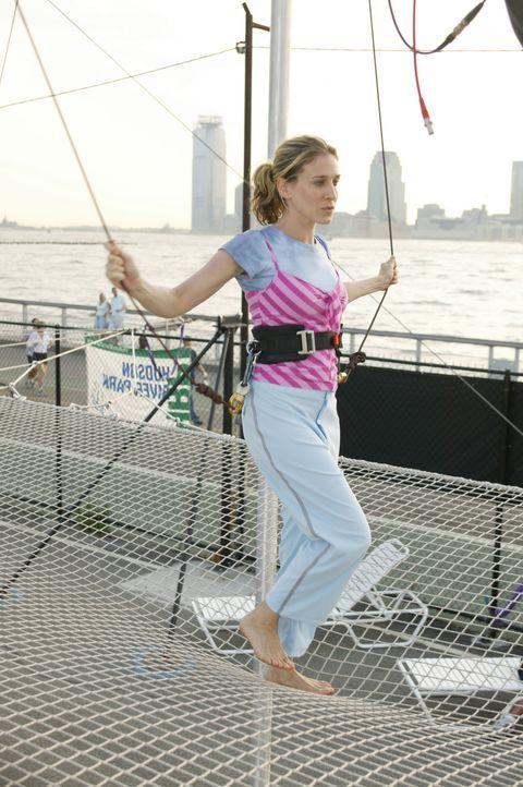 Kann und will sich nicht fallen lassen: Carrie (Sarah Jessica Parker) ... - Bildquelle: Paramount Pictures