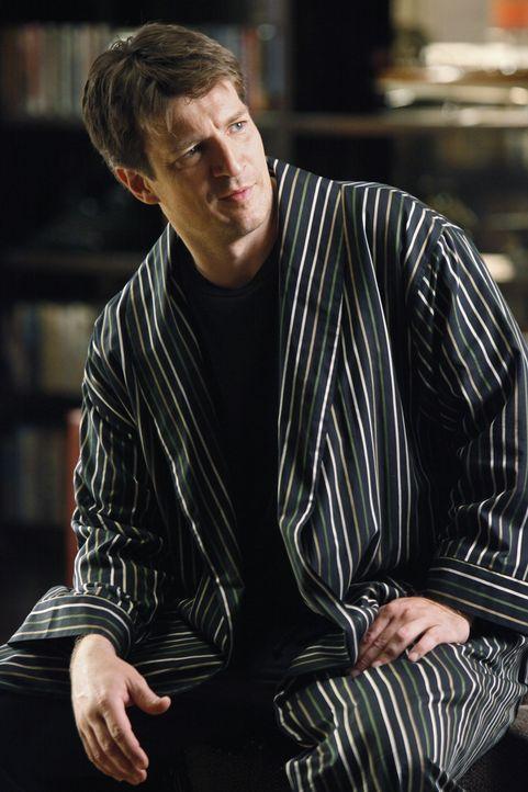 Erhält ein sehr reizvolles und lukratives Angebot: Richard Castle (Nathan Fillion) - Bildquelle: ABC Studios