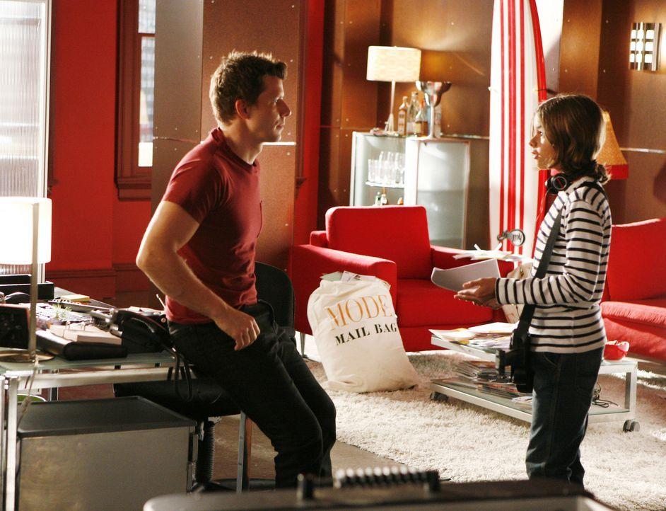 Daniel (Eric Mabius, l.) wird klar, dass er einen harten Kampf ums Sorgerecht führen muss, wenn er seinen Sohn (Julian de la Celle, r.) behalten wil... - Bildquelle: 2008   ABC Studios