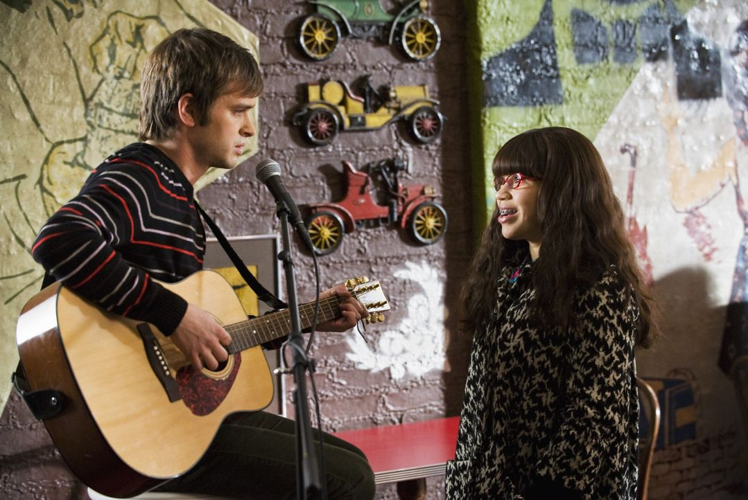 Betty (America Ferrera, r.) beschließt, aus der gemeinsamen Wohnung mit Amanda auszuziehen. Doch zuvor hat sie ein Date mit ihrem Nachbarn Jesse (Va... - Bildquelle: 2008   ABC Studios