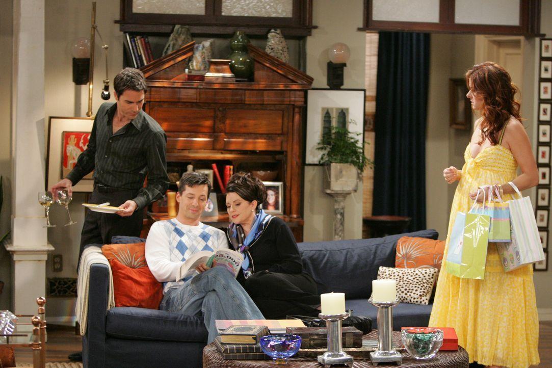 Die Freunde werden vor einige Probleme und Peinlichkeiten gestellt: Will (Eric McCormack, l.), Jack (Sean Hayes, 2.v.l.), Karen (Megan Mullally, 2.v... - Bildquelle: Chris Haston NBC Productions