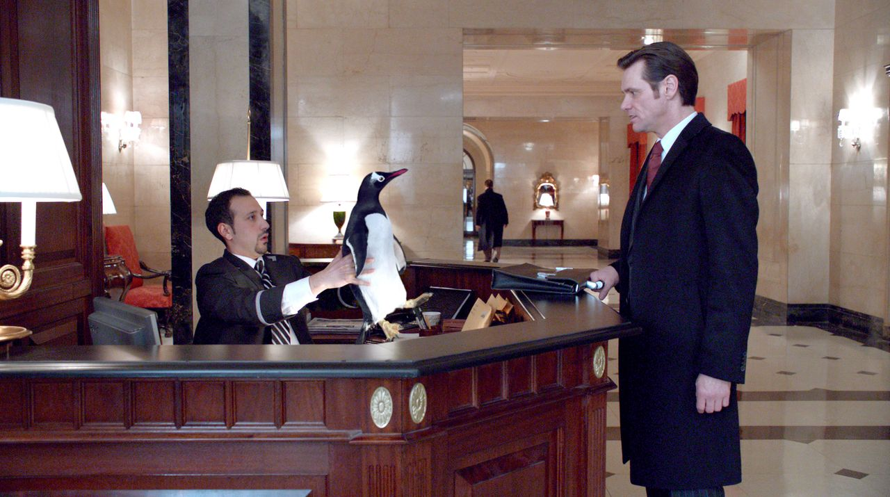 Arbeit ist alles für Tom Popper (Jim Carrey, r.). Dafür hat der von Ehrgeiz getriebene Geschäftsmann viel geopfert, lebt getrennt von seiner Frau Am... - Bildquelle: 2011 Twentieth Century Fox Film Corporation. All rights reserved.
