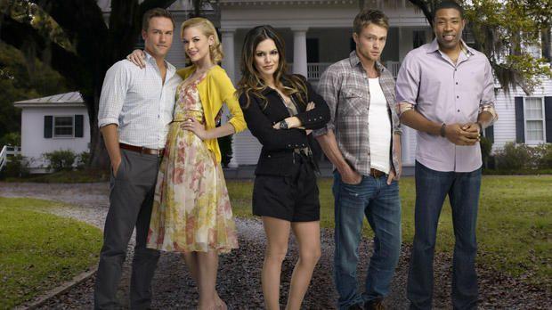 George, Lemon, Zoe, Wade und Lavon - Bildquelle: Warner Bros. Entertainment Inc.