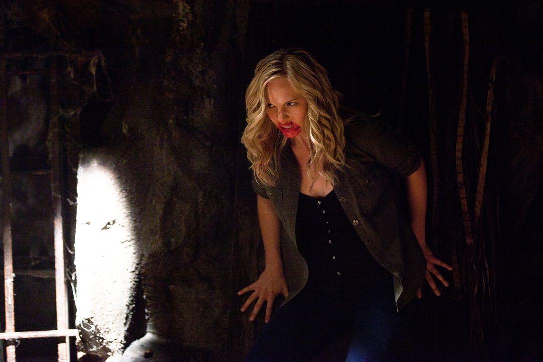 Hat sich dafür entschieden die todgeweihten Damon und Stefan zu retten, doch um dies tun zu können, muss sie sich ihrer Mutter als Vampir zeigen. Wi... - Bildquelle: Warner Brothers