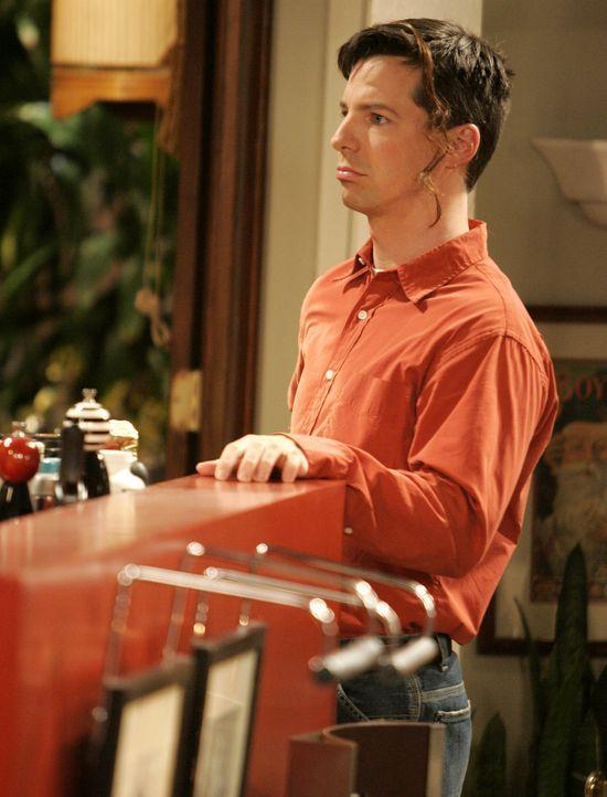 Nachdem Jack (Sean Hayes) Will wegen eines anderen Typen im Stich gelassen hat, möchte er es jetzt wieder gutmachen und lädt ihn zum Essen ein ... - Bildquelle: Chris Haston NBC Productions