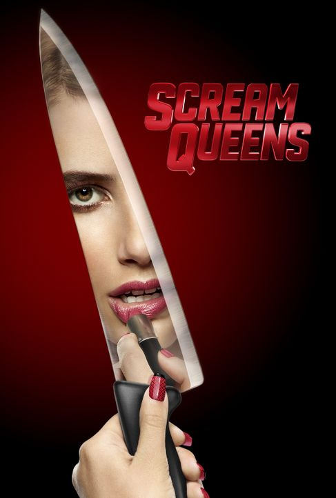 (1. Staffel) - Scream Queens - Artwork - Chanel (Emma Roberts) - Bildquelle: 2015 Fox and its related entities.  All rights reserved.