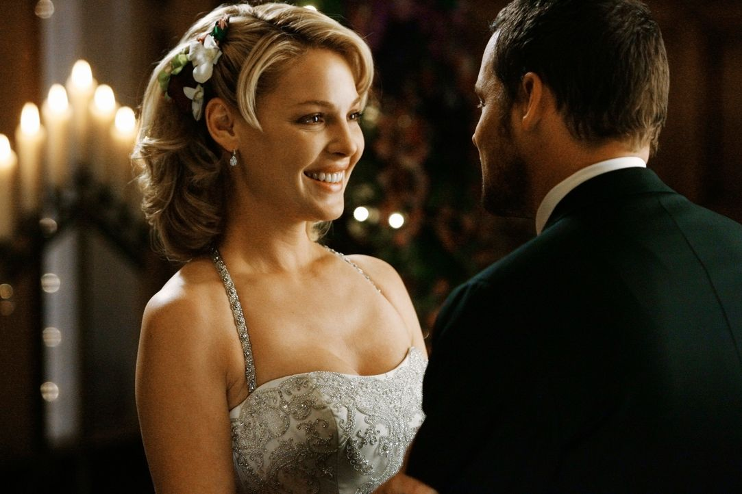 Erleben ihren schönsten Tag: Izzie (Katherine Heigl, l.) und Alex (Justin Chambers, r.) ... - Bildquelle: Touchstone Television