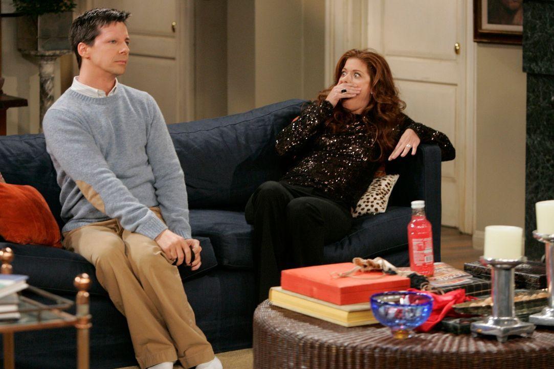 Grace (Debra Messing, r.) steckt in der Zwickmühle: Soll sie dem Werben ihrer verheirateten alten Jugendliebe nachgeben oder die Moral obsiegen lass... - Bildquelle: NBC Productions