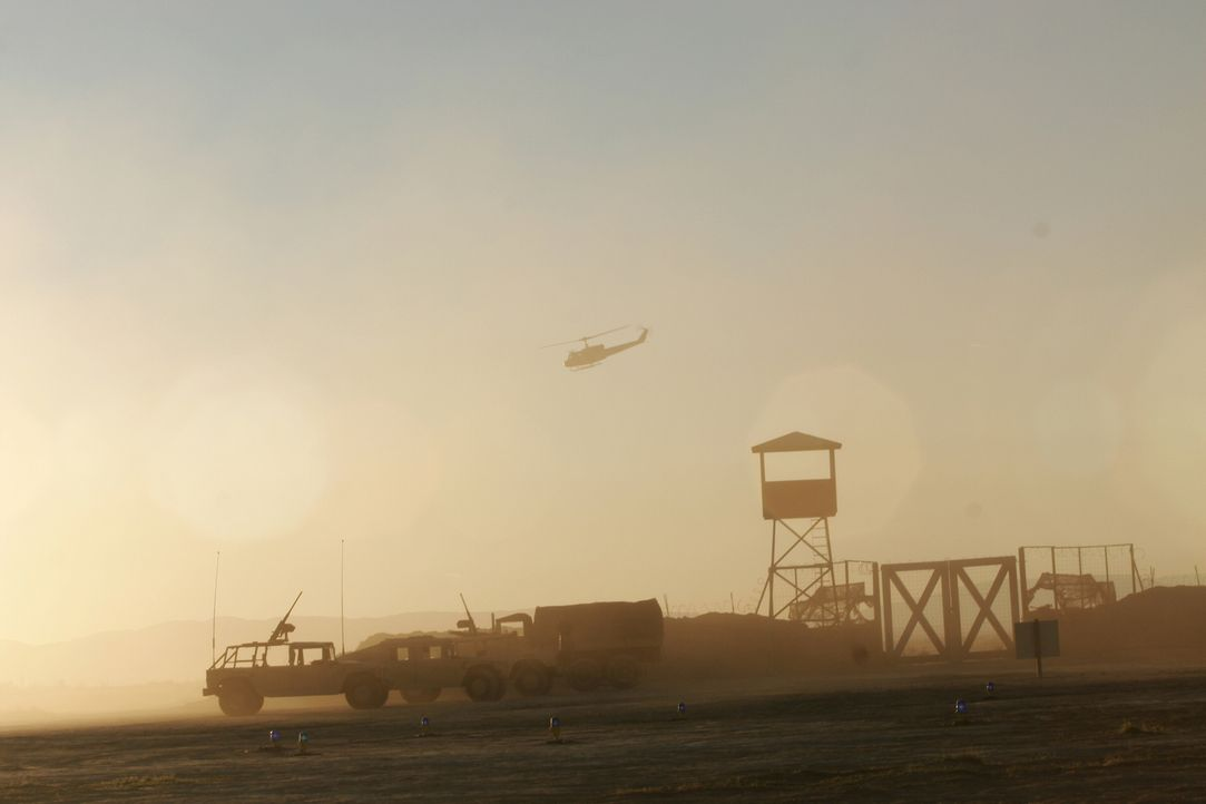 Gallants Stützpunkt im Irak ... - Bildquelle: WARNER BROS