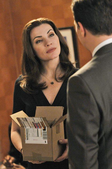 In der Kanzlei Stern, Lockhart und Gardner stehen Entlassungen bevor. Alicia (Julianna Margulies) bekommt die Chance, Punkte zu sammeln, da sie Anna... - Bildquelle: CBS Studios Inc. All Rights Reserved.