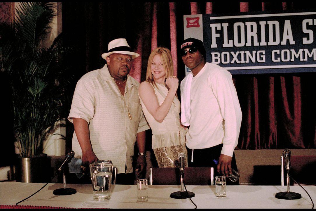 Ring frei für (v.l.n.r.) Felix Reynolds (Charles S. Dutton), Jackie Kallen (Meg Ryan) und Luther Shaw (Omar Epps) ... - Bildquelle: Paramount Pictures