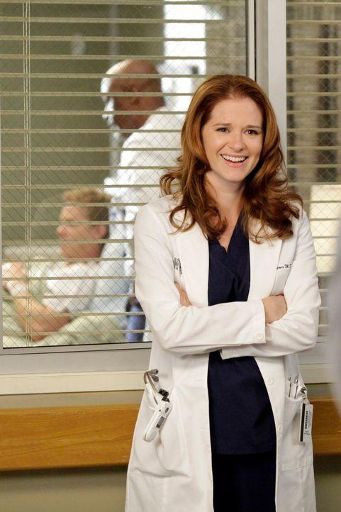 Versucht, ihre Affäre mit Jackson geheim zu halten: April (Sarah Drew) ... - Bildquelle: ABC Studios