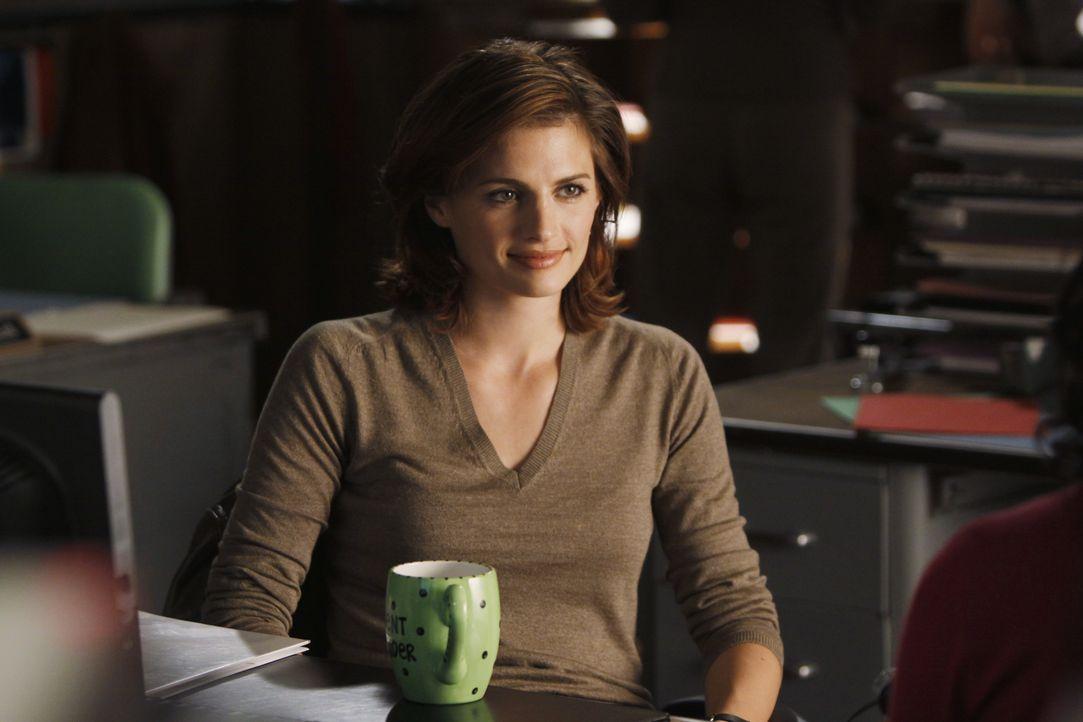 Von dem ganzen Pressetrubel um das neue Buch von Richard Castle ist Kate Beckett (Stana Katic) ziemlich schnell genervt. - Bildquelle: ABC Studios