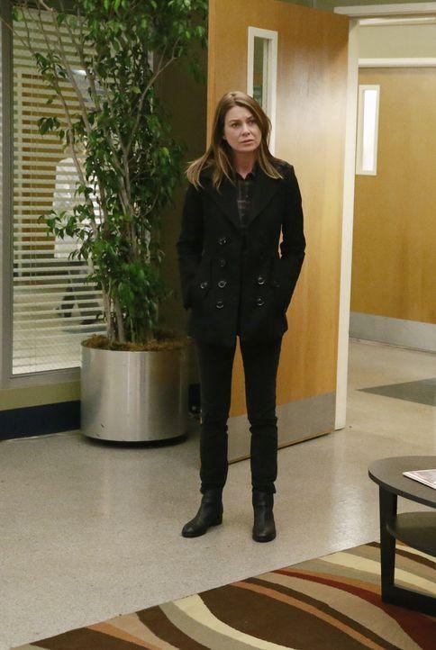 Nach alldem was geschehen ist, kehrt Meredith (Ellen Pompeo) ins Grey Sloan Memorial zurück, um den Kollegen zu sagen, dass Derek tot ist. Doch das... - Bildquelle: ABC Studios