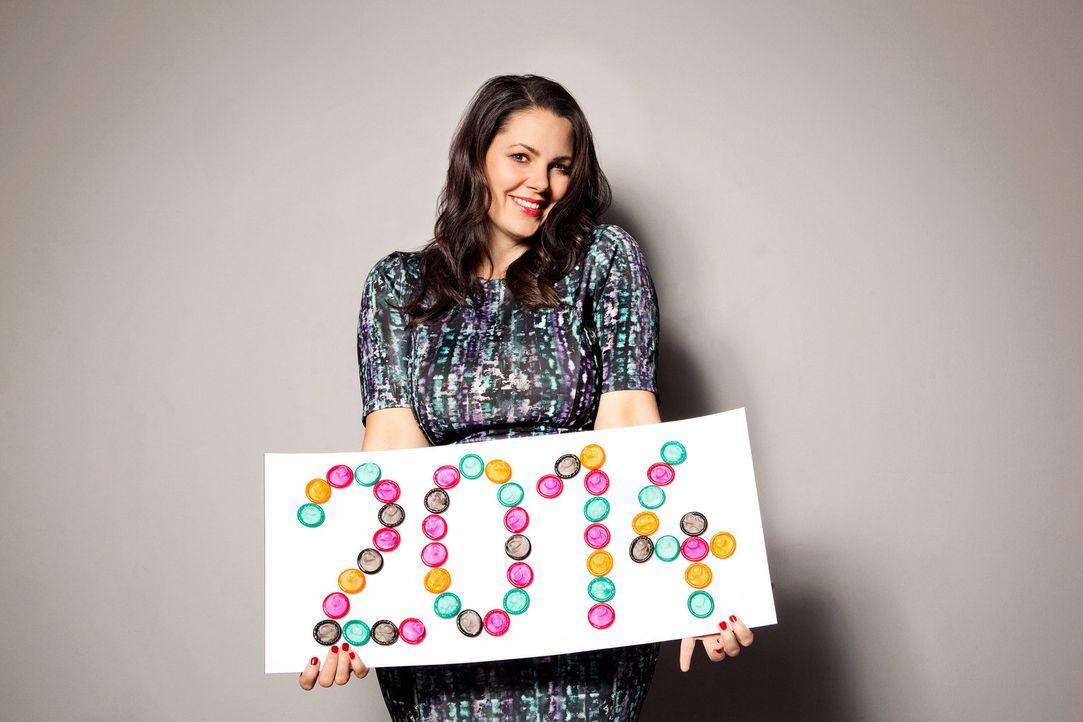 Paula Lambert blickt zurück auf das Jahr 2014 und ruft einige Dinge wieder in Erinnerung ... - Bildquelle: Jens Koch sixx