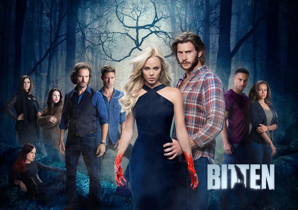 (2. Staffel) - Bitten - Artwork - Bildquelle: 2015 She-Wolf Season 2 Productions Inc.