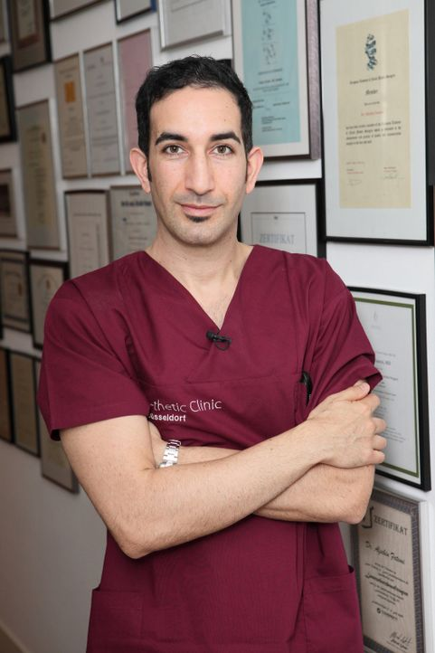 """Es gibt fast keinen """"Makel"""", den """"Beauty-Doc"""" Dr. Fatemi nicht beseitigen könnte. - Bildquelle: sixx"""