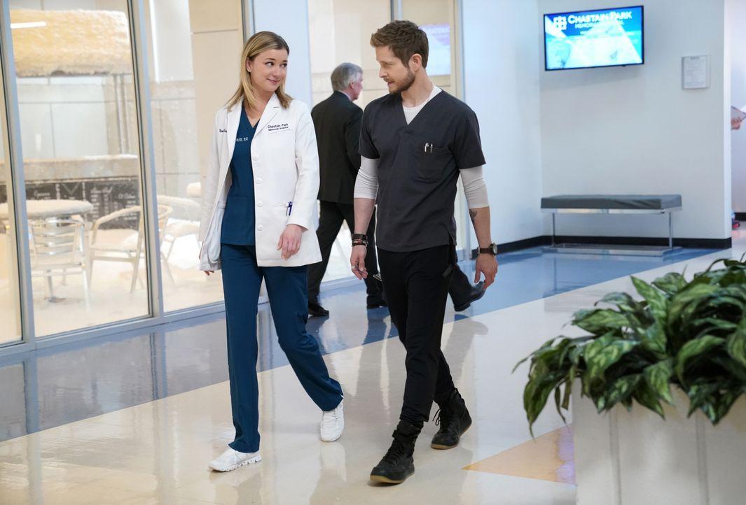 Nicolette Nevin (Emily VanCamp, l.); Dr. Conrad Hawkins (Matt Czuchry, r.) - Bildquelle: 2018-2019 Twentieth Century Fox Film Corporation.  All rights reserved.