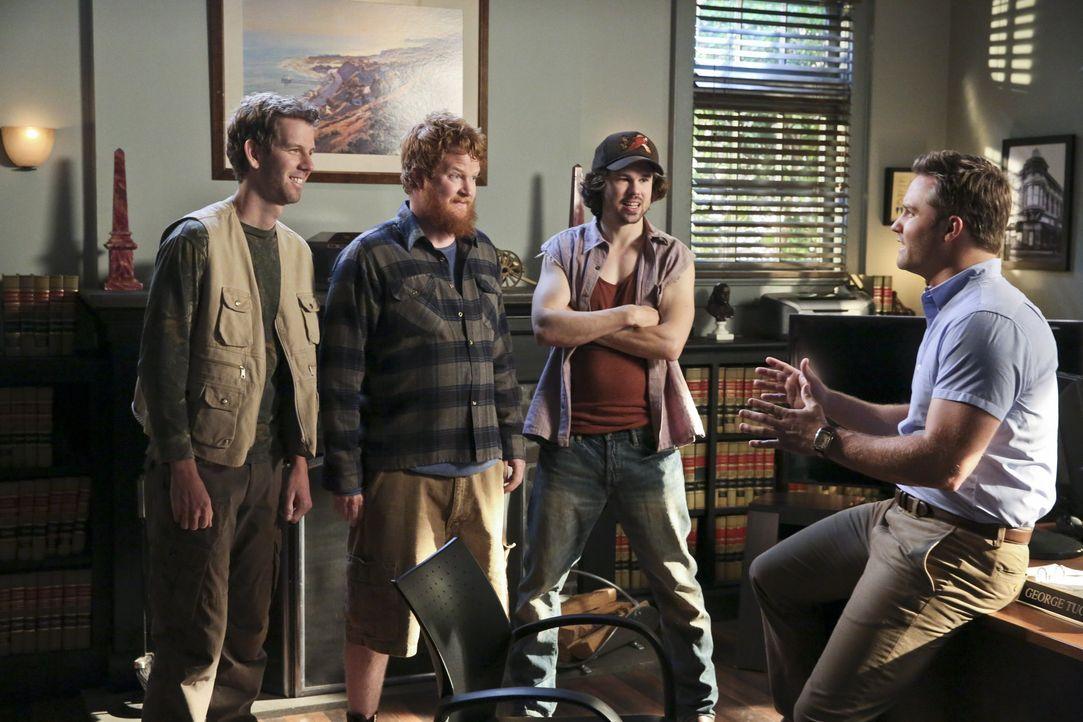 Hart of Dixie: Die Jungs wollen das Rätsel um Shelby lösen - Bildquelle: Warner Bros. Entertainment Inc.
