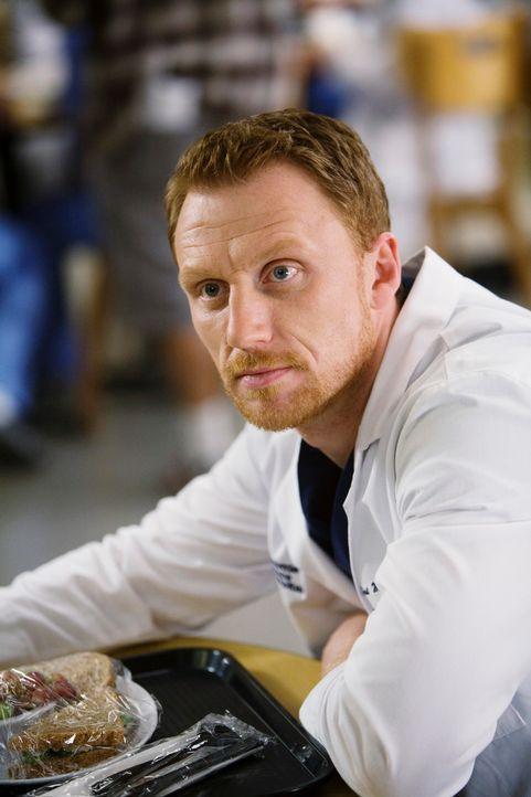Cristina erlebt ihre ganz eigene Romanze mit Owen Hunt (Kevin McKidd) ... - Bildquelle: Touchstone Television
