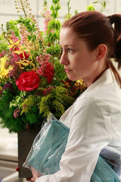 Lexie (Chyler Leigh) verbringt ihre Zeit damit, Gegenstände aus dem Krankenhaus mitgehen zu lassen um ihre Bude wohnlicher zu gestalten, denn sie m... - Bildquelle: Touchstone Television
