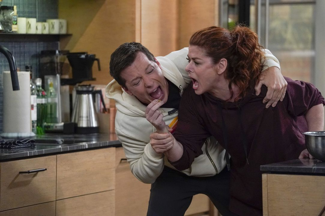 Jack (Sean Hayes, l.); Grace (Debra Messing, r.) - Bildquelle: Chris Haston 2018 NBCUniversal Media, LLC / Chris Haston