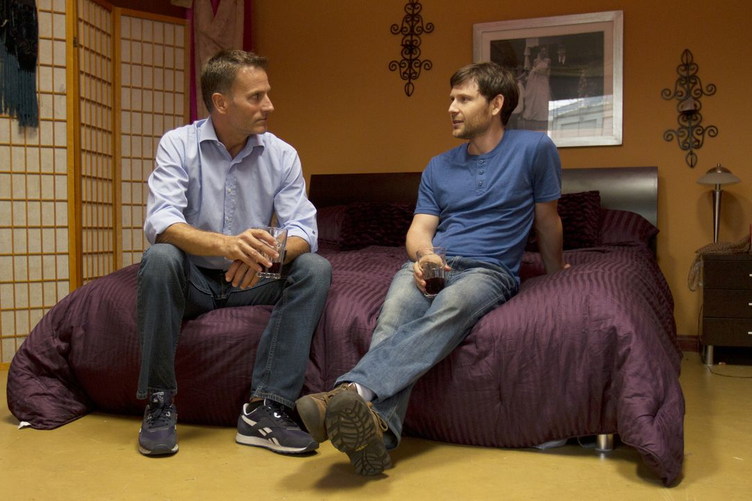Entwickelt sich etwas zwischen Christian (l.) und Tahl (r.)? - Bildquelle: Showtime Networks Inc. All rights reserved.