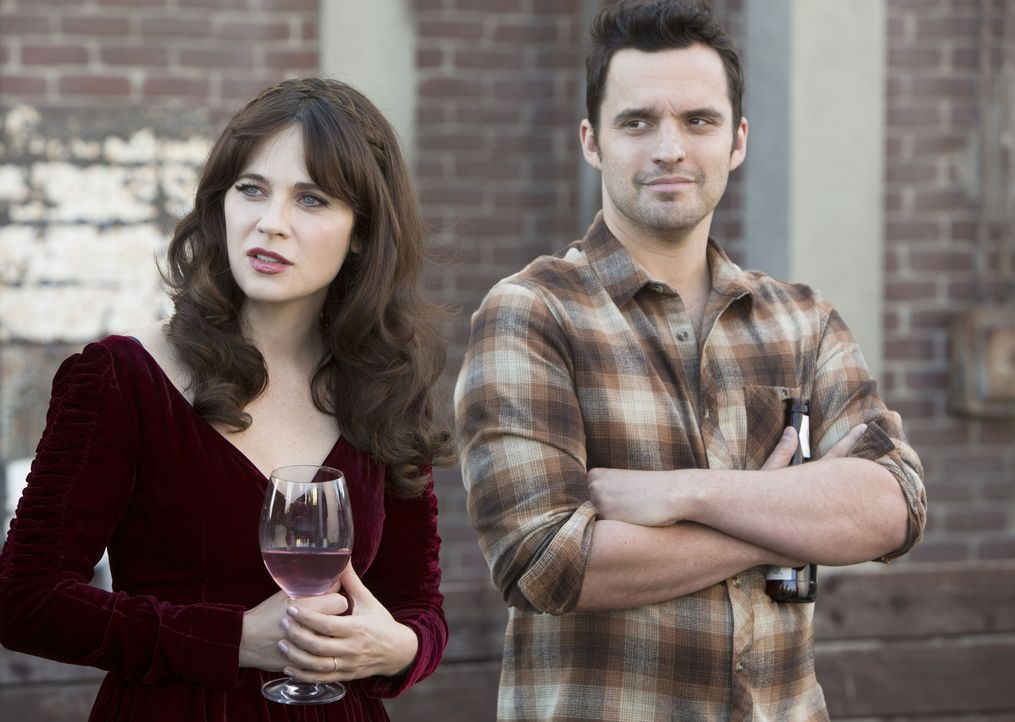 Welche Überraschungen hält Thanksgiving in diesem Jahr für Jess (Zooey Deschanel, l.) und Nick (Jake Johnson, r.) bereit? - Bildquelle: 2014 Twentieth Century Fox Film Corporation. All rights reserved.