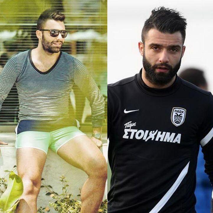 Heißester Spieler der WM: Georgios Tzavellas aus Griechenland - Bildquelle: Twitter: Giwrgos Tzavellas / AFP