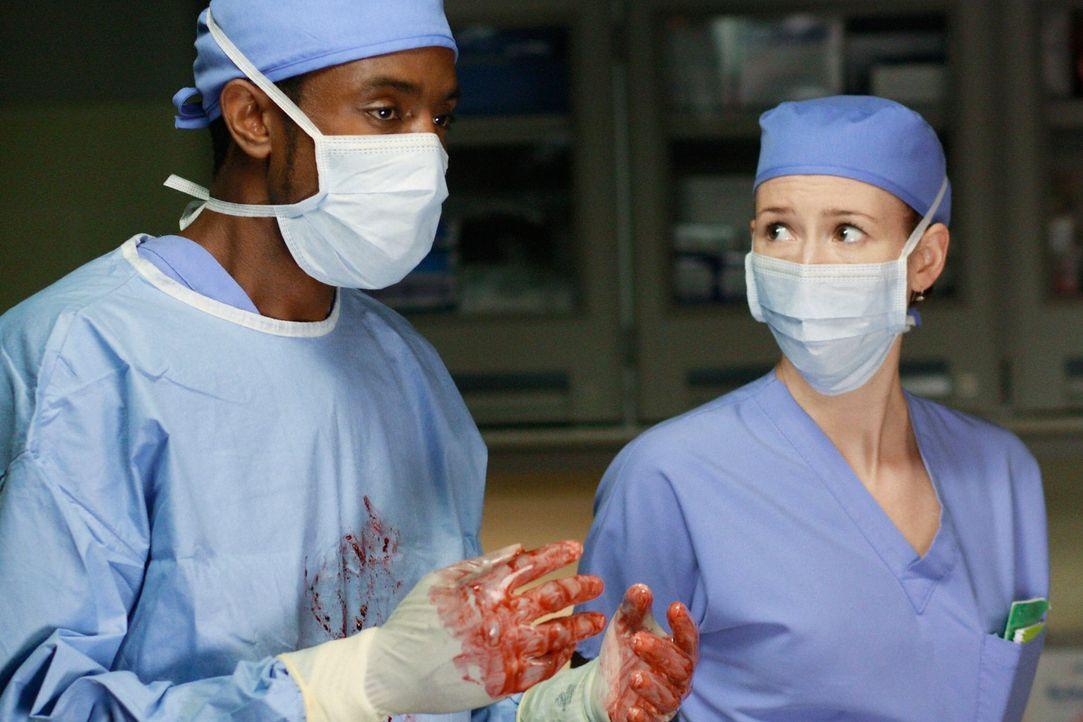 Begeben sich auf gefährliches Terrain: Lexie (Chyler Leigh, r.) und Ryan (Brandon Scott, l.) ... - Bildquelle: Touchstone Television