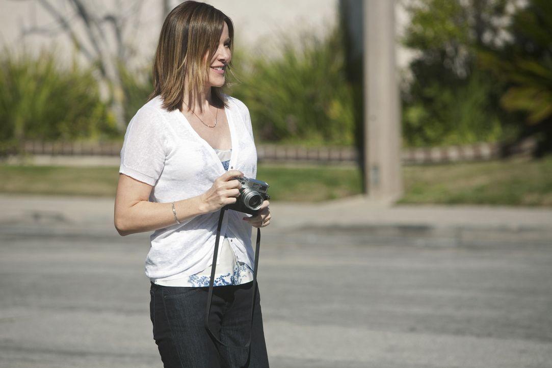 Nach und nach, kann sich Ellie (Christa Miller) mit Andy und dem neuen Motorrad abfinden ... - Bildquelle: 2009 ABC INC.