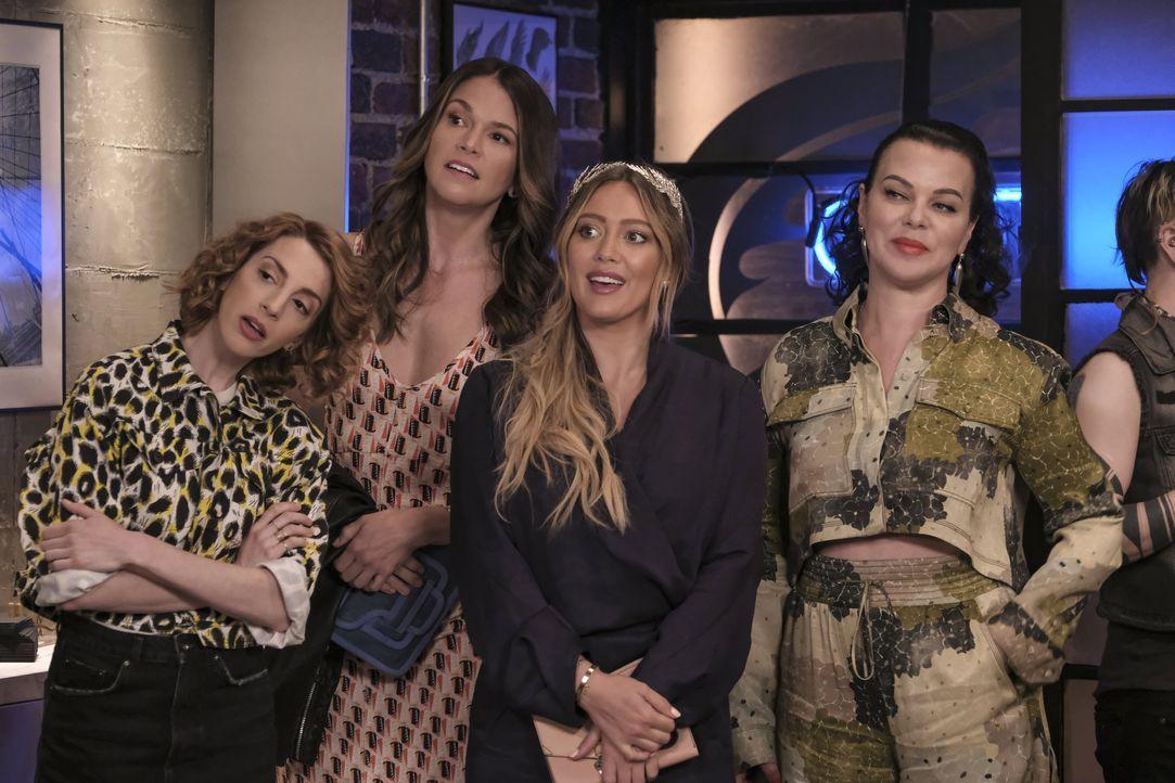 (v.l.n.r.) Lauren Heller (Molly Bernard); Liza Miller (Sutton Foster); Kelsey Peters (Hilary Duff); Maggie Amato (Debi Mazar) - Bildquelle: Hudson Street Productions Inc 2018