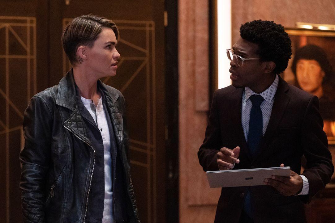 Kate Kane (Ruby Rose, l.); Luke Fox (Camrus Johnson, r.) - Bildquelle: Katie Yu 2020 The CW Network, LLC. All rights reserved. / Katie Yu