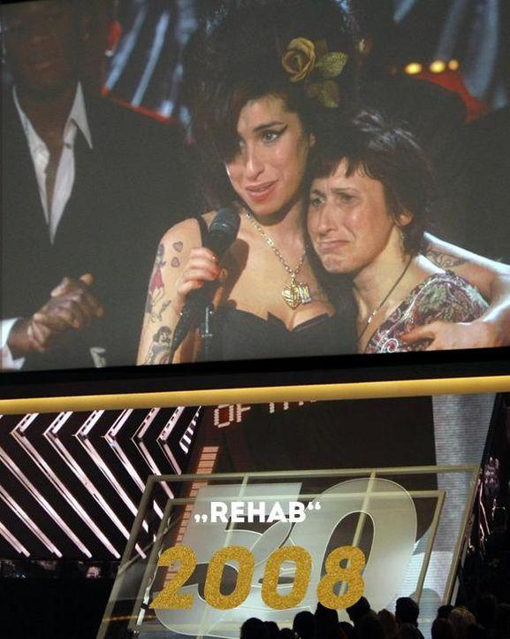 Grammy 2008: Rehab - Bildquelle: AFP