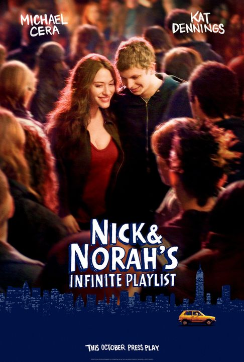 NICK UND NORAH - SOUNDTRACK EINER NACHT - Plakatmotiv - Bildquelle: 2008   CPT Holdings, Inc. All Rights Reserved. (Sony Pictures Television International)