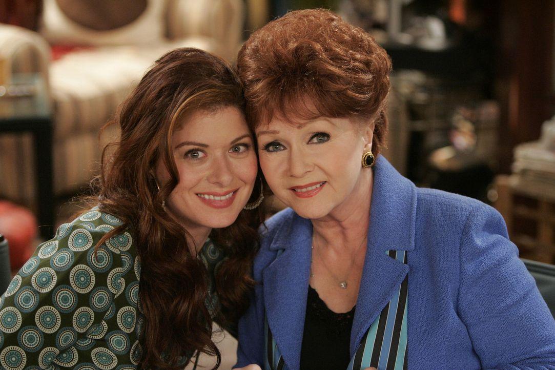 Haben einige Probleme miteinander: Grace (Debra Messing, l.) und ihre Mutter Bobbi (Debbie Reynolds, r.) ... - Bildquelle: NBC Productions